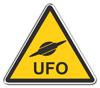 UFO Danger Sign