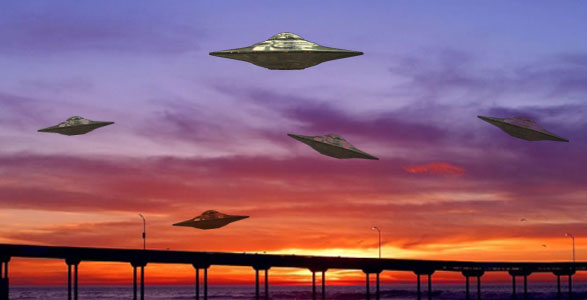 There has been a marked Increase in UFO Sightings in 2008