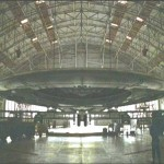 UFO in Area 51 Hanger