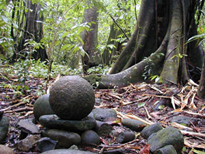 Small Stone Ball in Costa Rica