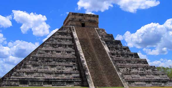 What Was At The Top of The Mayan Pyramids?