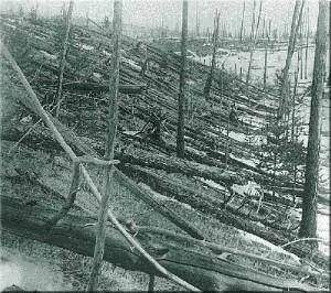 Tungusta Meteor Blast of 1908